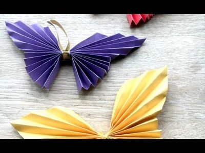 DIY crafts: how to make different type of Paper BUTTERFLIES by Deep Dive