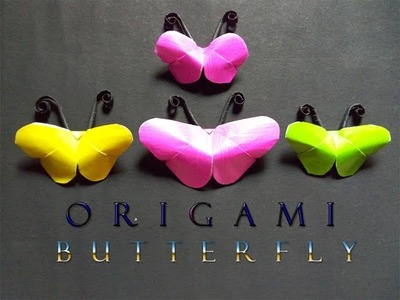 Diy Crafts: Paper Butterfly Tutorial ♦ ORIGAMI CRAFT ♦ Diy craft
