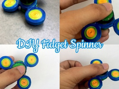 how to make a fidget spinner without glue or bearings