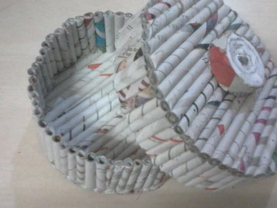 DIY: How to make jewellary box using news paper crafts | news paper crafts