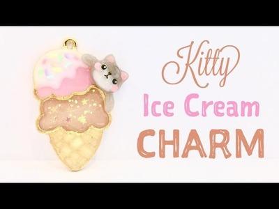 DIY Kitty Ice Cream Charm & GIVEAWAY