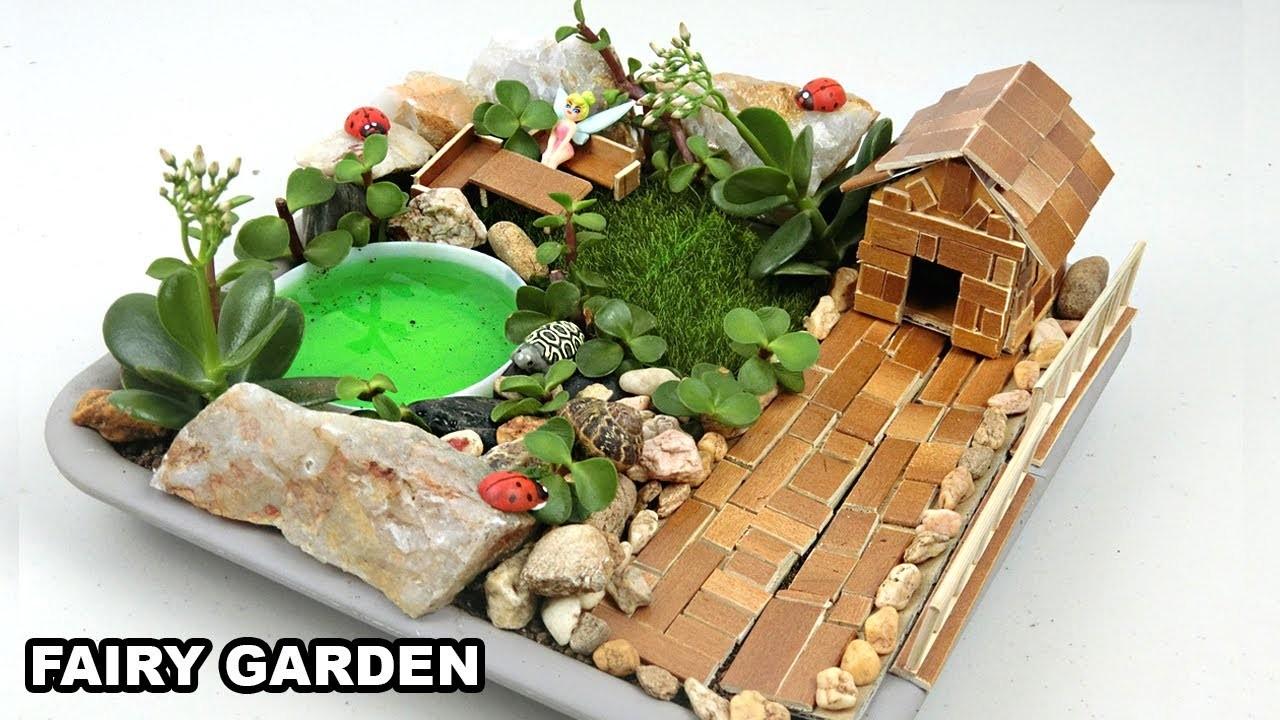 Diy mini fairy garden 5 easy crafts ideas for How to make a fairy garden for kids
