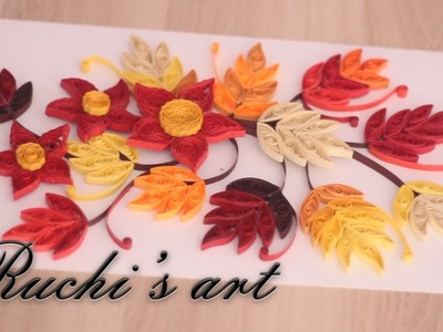 DIY | Paper Quilling | Greeting Cards | ruchi's art