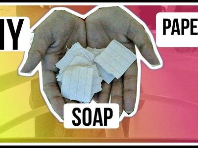 DIY Paper Soap!!!