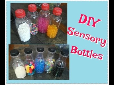 DIY Sensory Bottles by ~Twinfairies Homedaycare~
