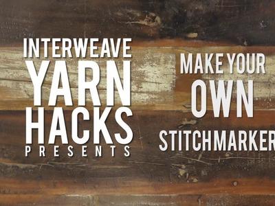 DIY Stitch Markers from Jewelry Toggles | Interweave Yarn Hacks