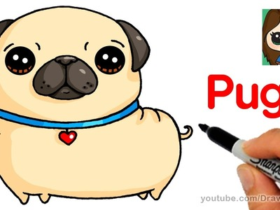 How to Draw a Pug Easy