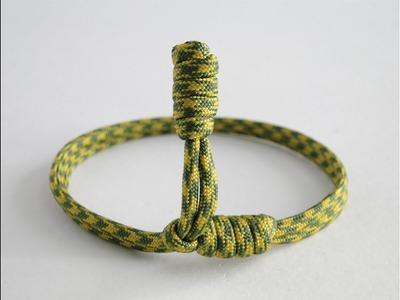 "How to Make a ""Rattlesnake Rattle"" Paracord Friendship Bracelet. DIY Friendship Bracelet"
