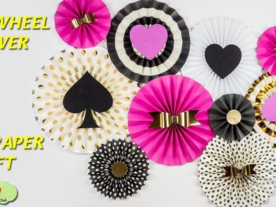 how to make pinwheel flowers from paper