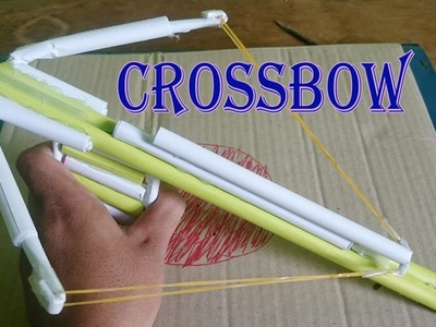 How to Make Paper Crossbow Very Powerful