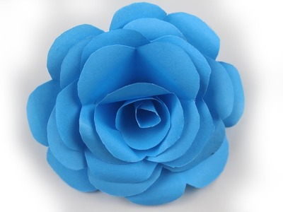 How to Make Very Easy and Simple to Make Beautiful Paper Rose | DIY Paper Rose Origami