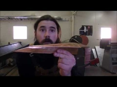 Making a Paper Plane from Copper Sheet