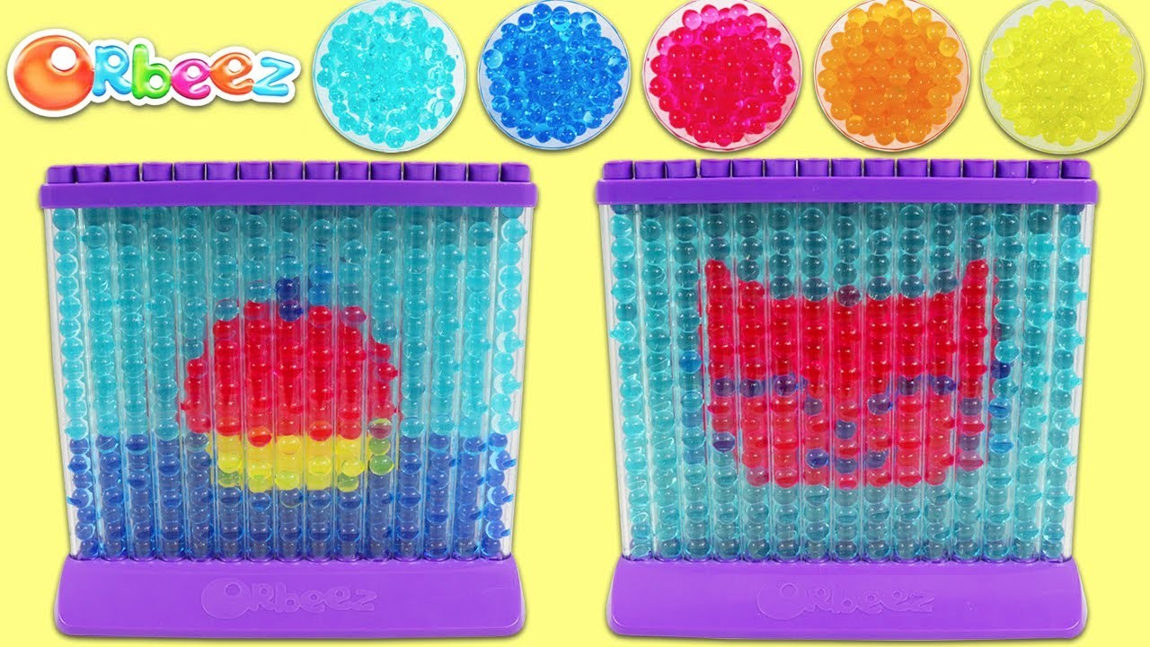 ORBEEZ Arts and Crafts Playset DIY Cute Kitten and Cupcake Dessert Designs!