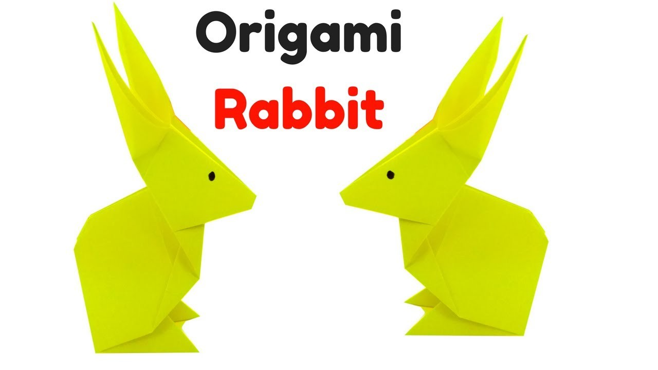 How to make origami rabbit