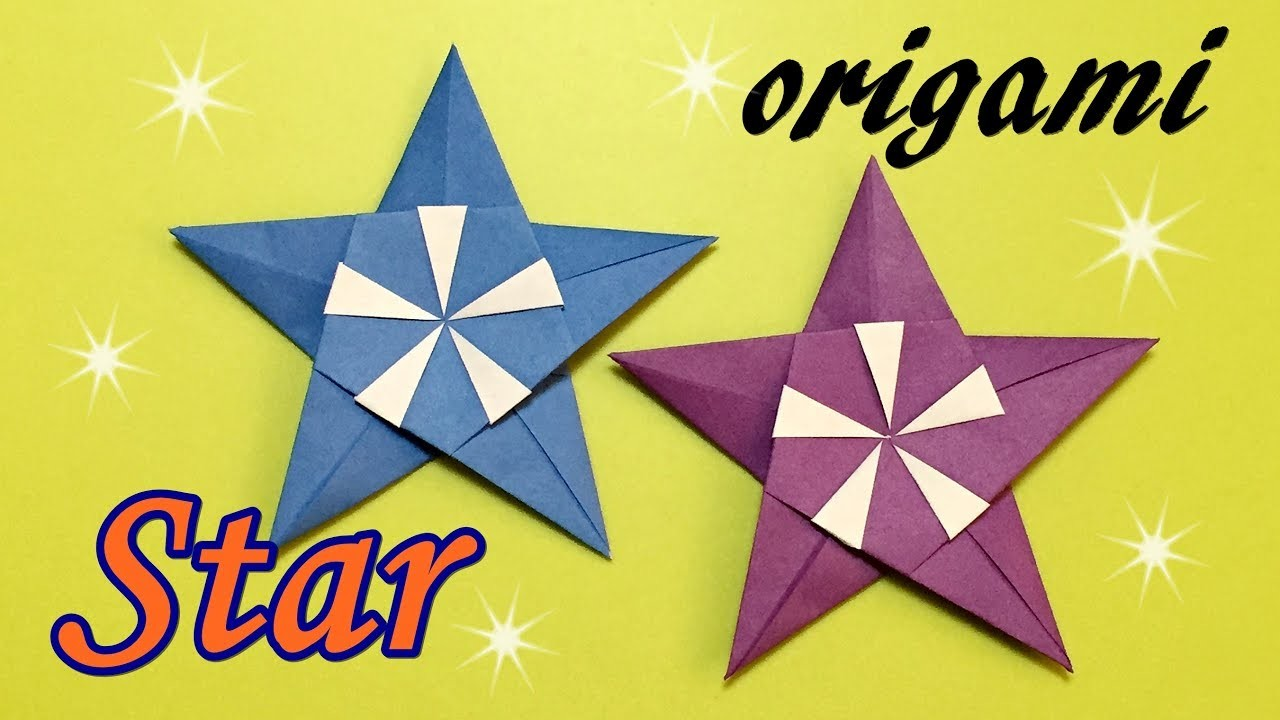 Origami Star Easy for Beginners but Cool, How to Make ... - photo#38