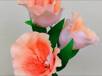Paper Flower Clarkia \ Godetia (flower # 161)