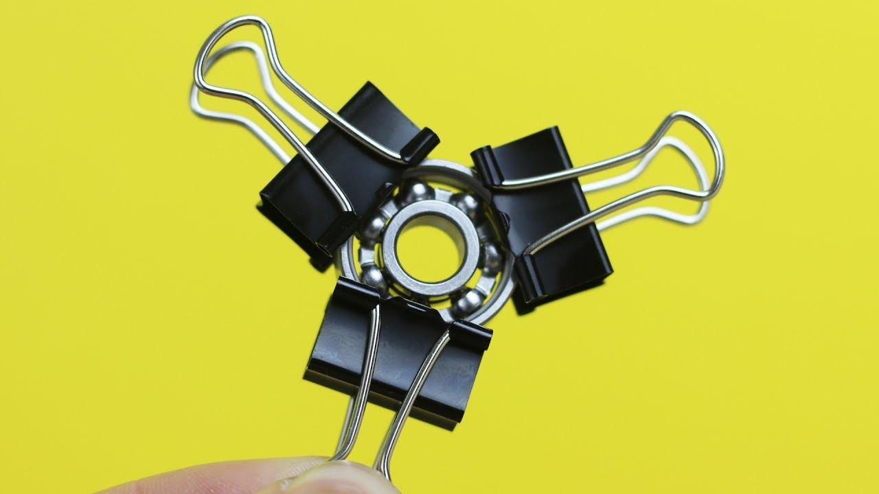 3 Awesome DIY Fidget Spinner Ideas My Crafts And DIY Projects
