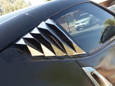 370z Window Louvers (DIY)