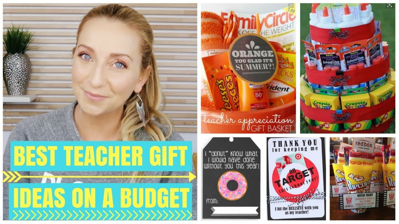 Classroom Ideas On A Budget ~ Best diy teacher gift ideas on a budget for the end of