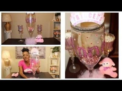 Birthday parties for girls DIY: Princess Theme Birthday Party Centerpiece   Girl's Birthday   Baby