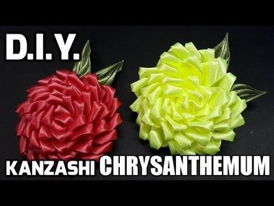 D.I.Y. KANZASHI CHRYSANTHEMUM | MYINDULZENS