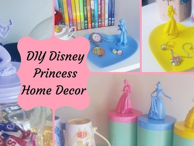 Disney Princess Home Decor | DIY