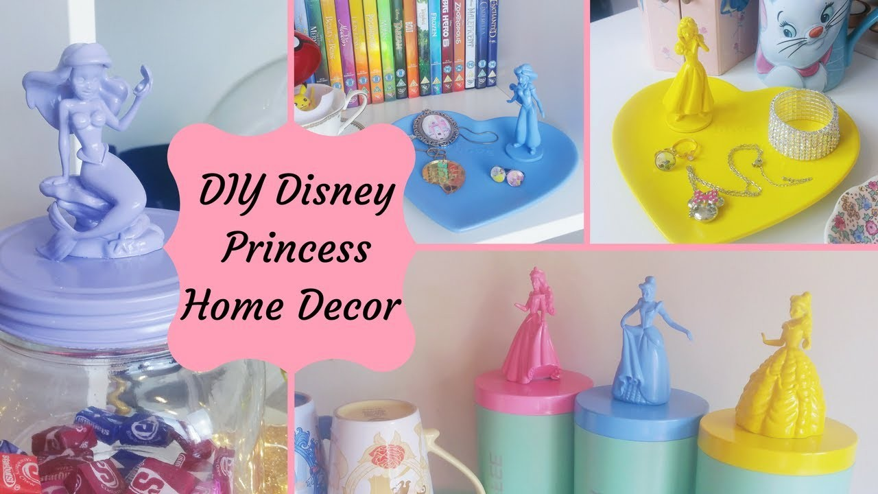 Disney Princess Home Decor DIY My Crafts and DIY Projects