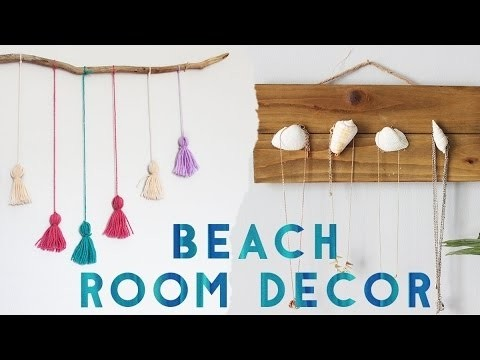 DIY Beach Room Decor Summer 2016 My Crafts And DIY Projects