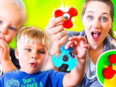DIY CANDY FIDGET SPINNER MADE WITH PLAY-DOH!