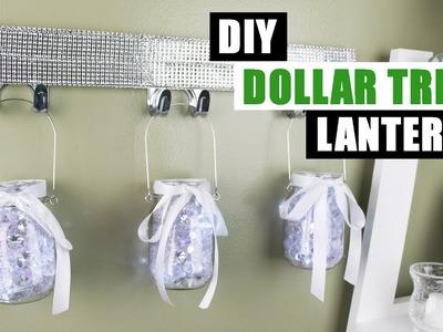 DIY DOLLAR TREE LIGHT UP LANTERNS Dollar Store DIY Bling Lanterns DIY Dollar Tree Glam Home Decor