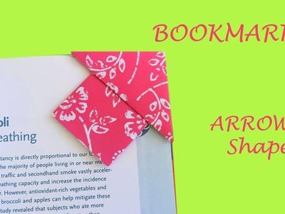 ???? DIY easy origami arrow bookmark ????origami bookmark