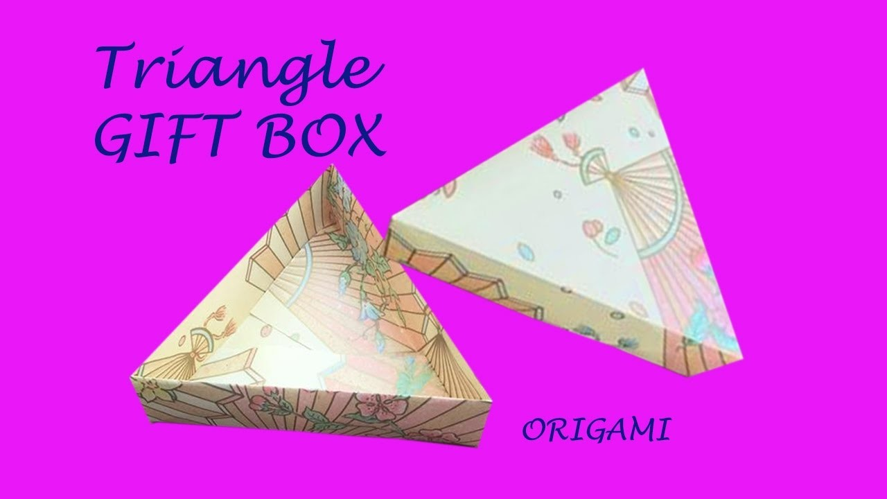 origami diy easy origami gift box very cool