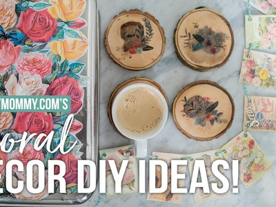 DIY Floral Home Decor Ideas You Can Make with a Printer