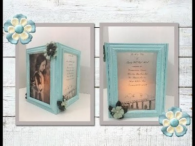 DIY Graduation Gift.Centerpiece for a Special Occasion (using Dollar Tree frames)