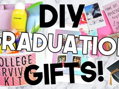 DIY Graduation Gifts! Cheap & Easy!