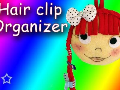 DIY Hair clip organizer - Ana   DIY Crafts