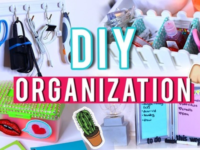 DIY Inexpensive Organization Using Materials $1 OR LESS!