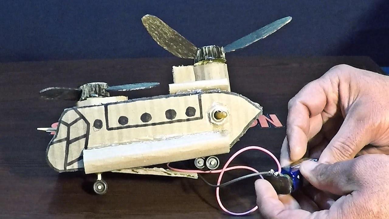 Hydraulic Arm Yuri Ostr : Diy military helicopter electric ch