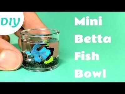 DIY Miniature Betta Fish Bowl