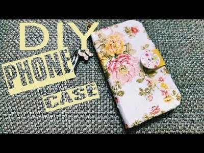 DIY PHONE CASE. HOLDER. WALLET. COVER ( Easy and Cheap )