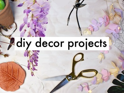 DIY Plant Inspired Room Decor Projects (Part 2) | Natasha Rose