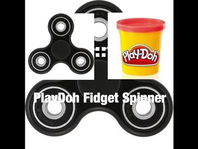 DIY PlayDoh Fidget Spinner