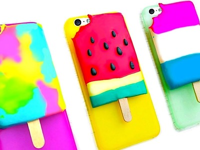DIY POPSICLE PHONE CASES | 5-Minute Crafts for Summer 2017