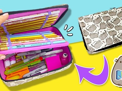 DIY PUSHEEN Pencil CASE * ESTUCHE Casero PUSHEEN estilo KIPLING ✅  Top Tips & Tricks