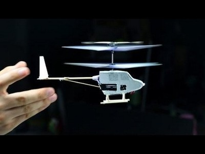 DIY RC Helicoter from Broken Parts