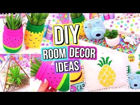 Diy room decor ideas easy fun 5 minute diys for your for Room decor gillian bower