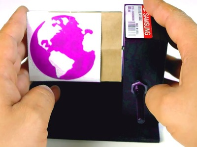 DIY Spinning Optical Illusion Toy