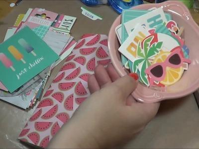 DIY Summer Junque Journals Traveler's Notebook Style
