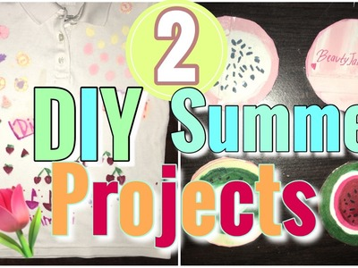 DIY SUMMER PROECTS! SIMPLE &FAST