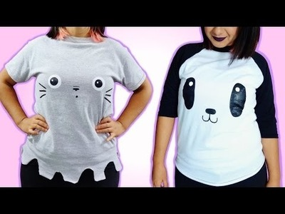 DIY Tumblr Shirts Without Transfer Paper! Easy & Cute T Shirts